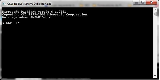 diskpart-02 Como Remover partições em pendrives