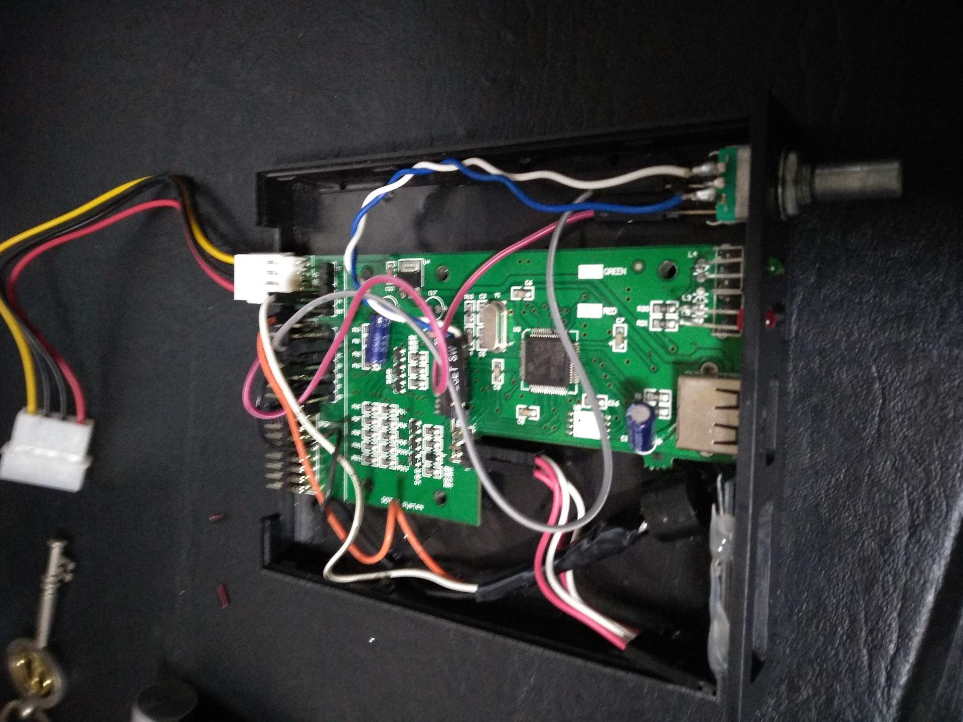 IMG_20180817_144509 Mod para o Floppy Drive Gotek com Cortex