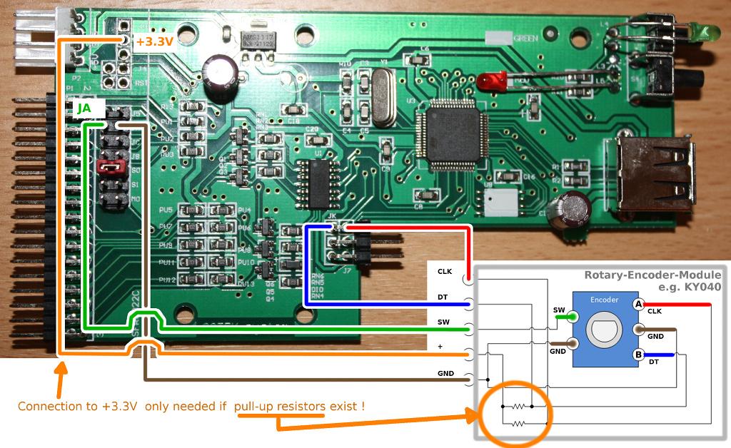 REncoder-1 Mod para o Floppy Drive Gotek com Cortex
