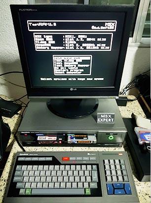 computer1 Fonte Externa no MSX Expert Gradiente
